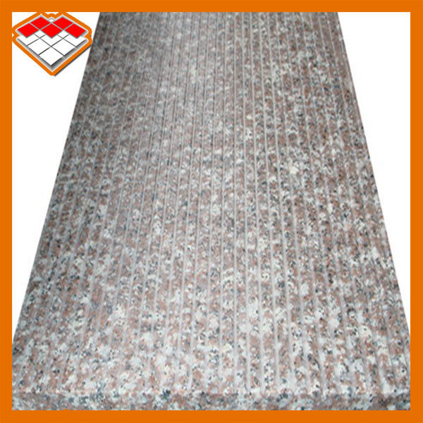 G603 Granite Stone Tiles 0.28% Water Absorption For Stairs Wall