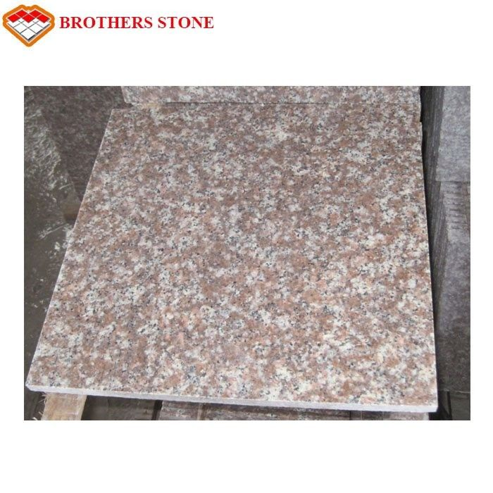 G687 Peach Flower Red Granite Stone Slabs For Bathroom Wall Tiles